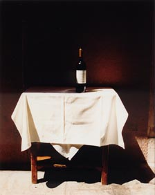 Wine Bottle, Table